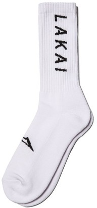 Lakai Unisex-Adult's Simple Crew Sock White Size NS