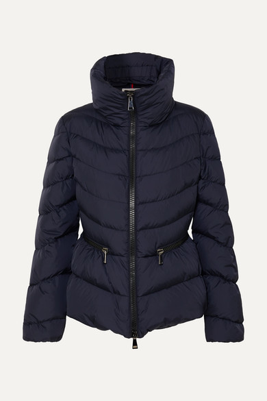 77f3e525c Quilted Shell Down Jacket - Navy