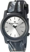Rip Curl Men's A2698-CHA Cambridge ABS Silicone Analog Display Analog Quartz Grey Watch