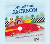 Pottery Barn Kids Speedster Personalized book