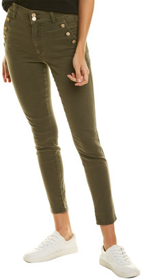 Joe's Jeans The High-Rise Grape Leaf Skinny Ankle Cut Jean