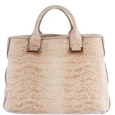 Rachel Zoe Embossed Leather Satchel