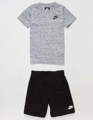Nike NSW Cloud Little Boys Tee & Shorts Set (4-7)