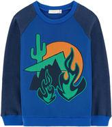 Stella McCartney Graphic organic cotton blend sweatshirt