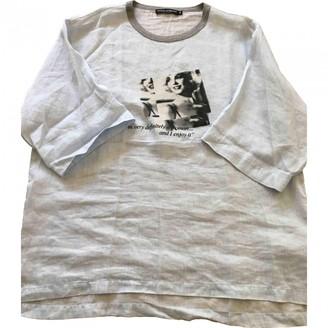 Dolce & Gabbana Blue Cotton T-shirts