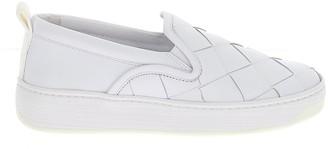 Bottega Veneta Woven Detail Slip-On Sneakers