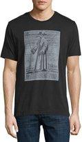 Robert Graham The Plague Doctor Graphic T-Shirt, Black