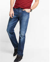 Express classic fit straight leg jeans