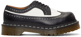 Dr. Martens Black and White 3989 Bex Brogues