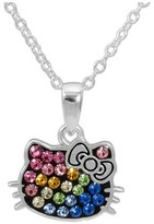 Hello Kitty Sanrio Rainbow Pendant Necklace