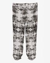 Parker Exclusive Ruched Leg Silk Pant