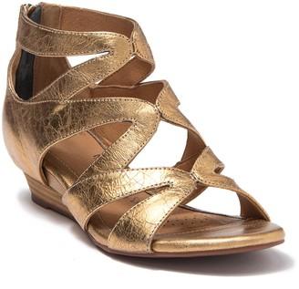 Sofft Regan Leather Wedge Sandal