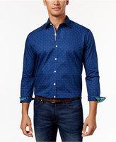 Club Room Men's Dot-Print Shirt, Only at Macy's
