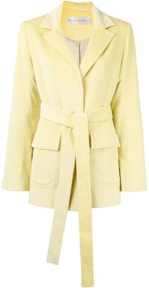 Victoria Victoria Beckham Belted Coat