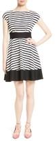 Kate Spade Women's Stripe Fit & Flare Dress