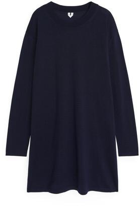 Arket Fine-Knit Merino Dress