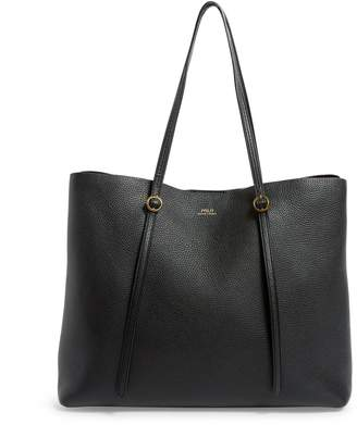 Polo Ralph Lauren Large Leather Lennox Tote Bag