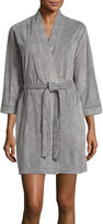 Jasmine Rose 3/4 Sleeve Burnout Kimono Robes