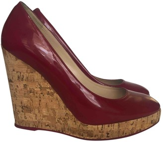Saint Laurent Red Patent leather Heels