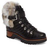 Rudsak Women's Baie Genuine Rabbit Fur Trim Winter Boot