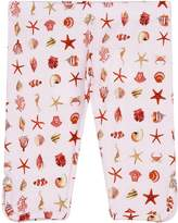Versace Seashell Print Leggings