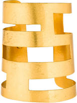 Herve Van Der Straeten Geometric Cutout Cuff