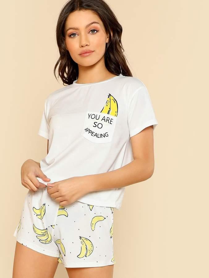 810ca0bd2 Pajama Shorts Pocket - ShopStyle