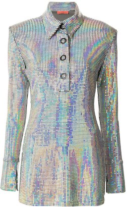 Manning Cartell Australia Metallic Polo Shirt Dress