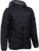 Under Armour Coldgear Reactor Hooded Jacket, Big Boys