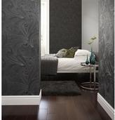 Graham & Brown 56 sq. ft. Saville Black Wallpaper