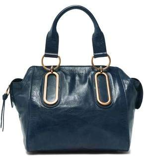 See by Chloe Paige Medium Washed-leather Shoulder Bag