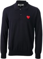 Comme des Garcons button down polo shirt - men - Wool - L
