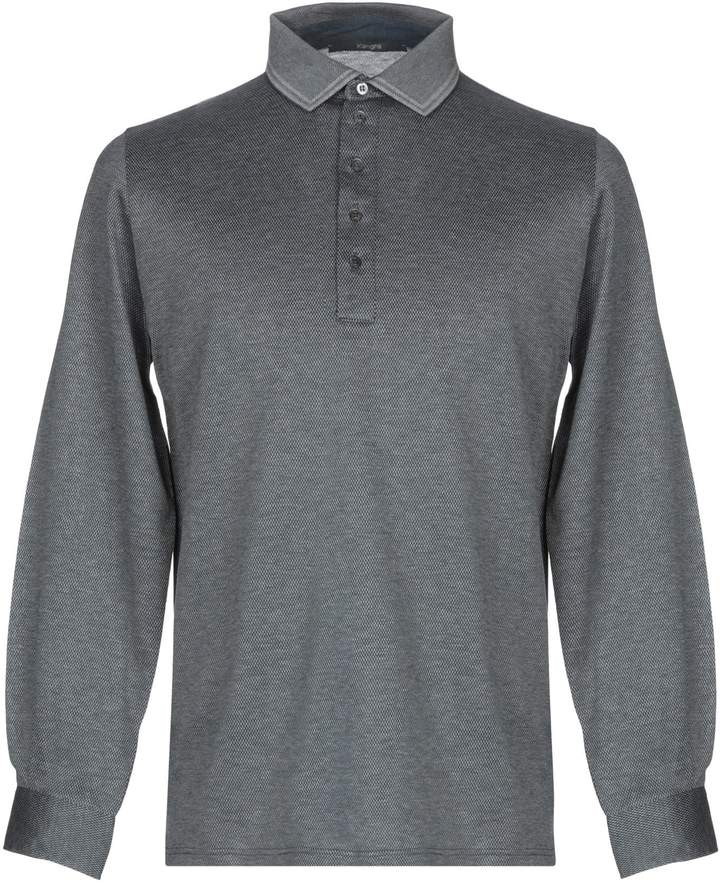 16698bfe492 Mens Cashmere Long Sleeve Polo - ShopStyle