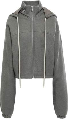 Rick Owens Wool Hooded Jacket