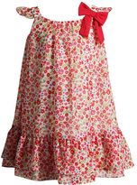 Youngland Toddler Girl Woven Chiffon Floral Dress