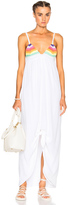 Mara Hoffman Crochet Tie Front Dress