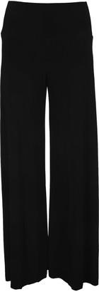 Norma Kamali Side Stripes Elephant Pants