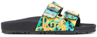 Versace Printed Slides