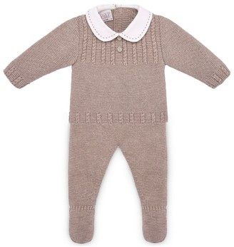 Paz Rodriguez Knitted Sweater and Leggings Set (1-12 Months)