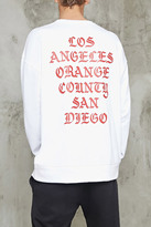 Forever 21 SoCal Graphic Terry Sweatshirt