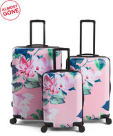 Thumbnail for your product : 3pc Flora Hardside Spinner Set