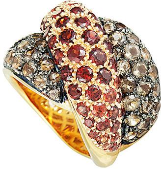 Damiani 18K Rose Gold 4.89 Ct. Tw. Diamond & Gemstone Ring