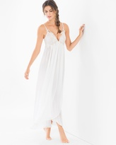 Soma Intimates Windsong Bridal Long Nightgown Ivory
