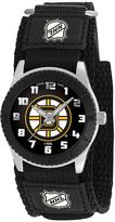 Game Time Rookie Series Boston Bruins Silver Tone Watch - NHL-ROB-BOS - Kids