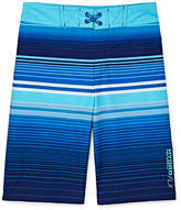 Free Country Geo Print Swim Trunks - Boys 8-20