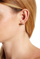 Argentovivo 18K Gold Plated Sterling Silver Labradorite Earrings