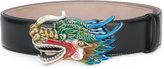 Gucci dragon buckle belt - men - Leather - 90