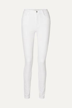 J Brand Carolina High-rise Skinny Jeans - White