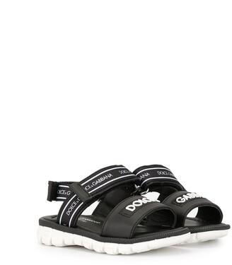 Dolce & Gabbana Sporty-Style Logo Sandals