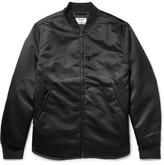 Acne Studios Mylon Nylon Bomber Jacket - Black